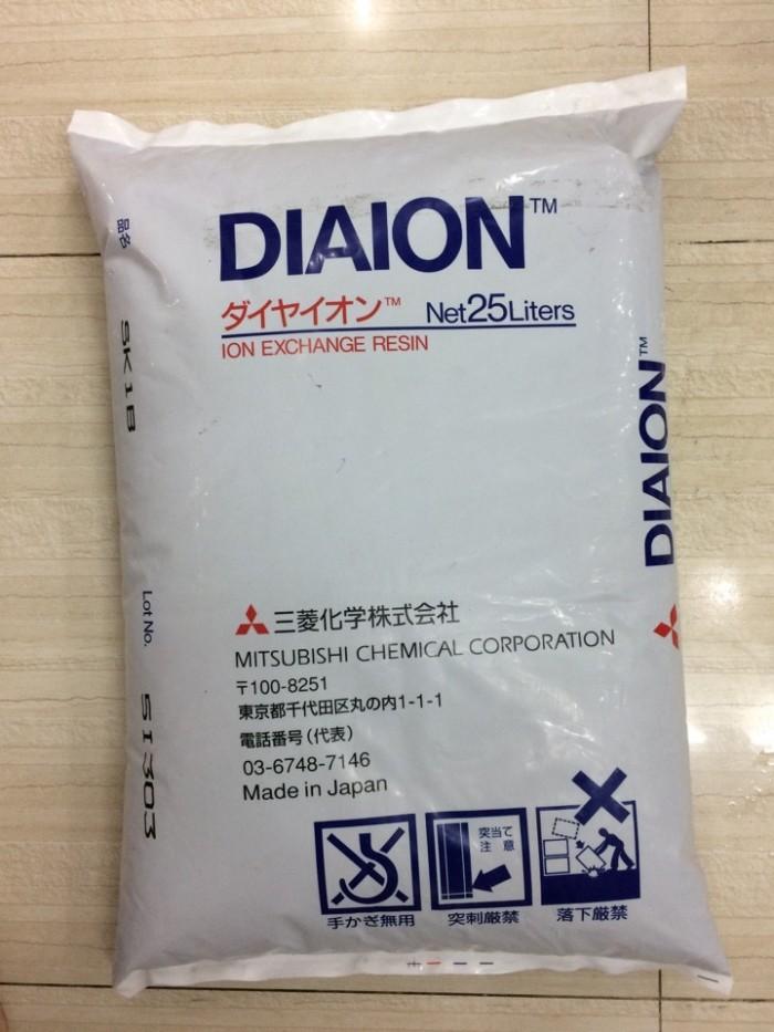 Hạt nhựa trao đổi ion Diaion