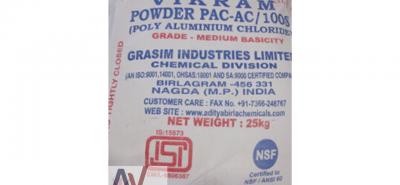 Hoá chất keo tụ PAC Ấn Độ, Sumaclear 825B