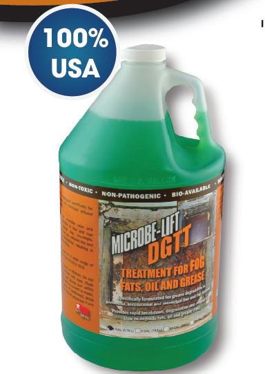 Men vi sinh Microbe-Lift DGTT khử dầu mỡ chất béo