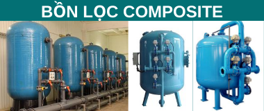 Bồn lọc Composite Pentair